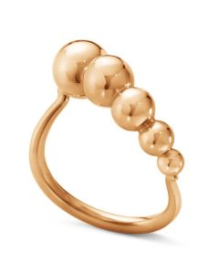 Georg Jensen Moonligh grapes ring i 18 karat rosa guld 10013654