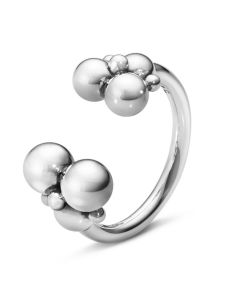 Georg Jensen Grape åben ring i sterlingsølv 10014408