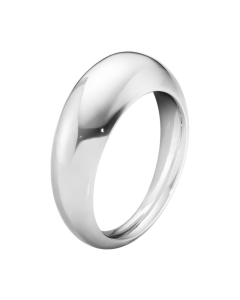 Georg Jensen curve ring i sterlingsølv 10017462