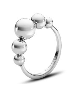 Georg Jensen ring, Grape smal i 925 sterlingsølv 3560980