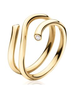 Georg Jensen Magic ring i 18 karat guld med diamanter 1513A 3569740