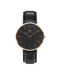 Daniel Wellington Sheffield Black & Rose