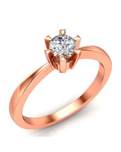 Laura Solitaire diamantring med 0,30 carat diamanter