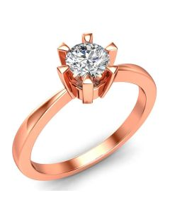 Laura Solitaire diamantring med 0,40 carat diamanter