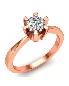 Laura Solitaire diamantring med 0,50 carat diamanter