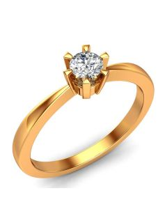 Laura Solitaire diamantring med 0,20 carat diamanter