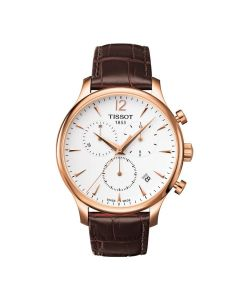 Tissot Tradition rosegold Chronograph T063.617.36.037.00